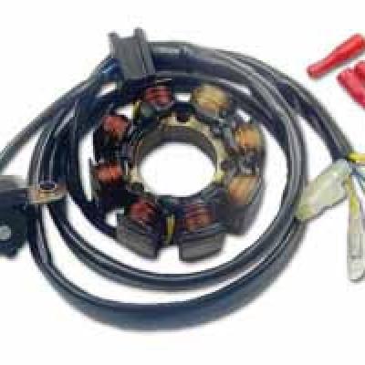 STATOR / NAMOTAJI / ALTERNATOR (SA SVJETLIMA) - ELECTREX <br>* HONDA CRF 450 (02-09), CRF 250 (04-09)